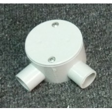 Shallow Junction Box With Two Way 20mm Angle