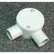 Shallow Junction Box With Two Way 25mm Angle