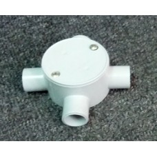 Shallow Junction Box With Four Way 20mm