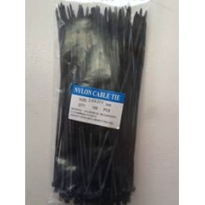 Cable Tie 3.6mmx200mm Black 100 PACK