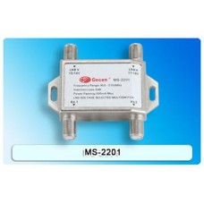 Gecen 2x2 Satellite Multiswitch (13/18V)