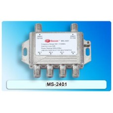 Gecen 2x4 Satellite Multiswitch (13/18V)
