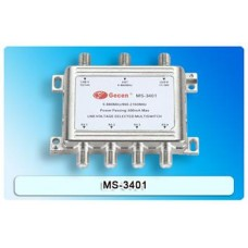 Gecen 3x4 Satellite Multiswitch (13/18V)