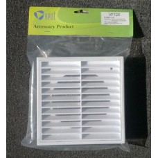 Fixed Outlet Vent-Hangsell Louvre Grille 125mm