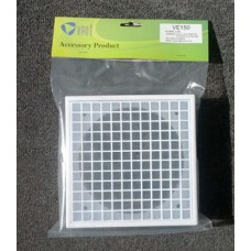 Vent Eggcrate Grille Outlet Vent-Hangsell 150mm