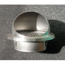 Grille Cowl Round Stainless steel 150mm